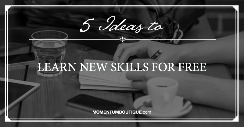 Learn new skills for free